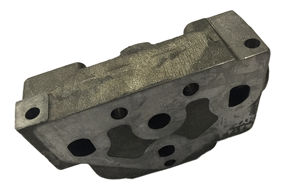 Machining cast parts